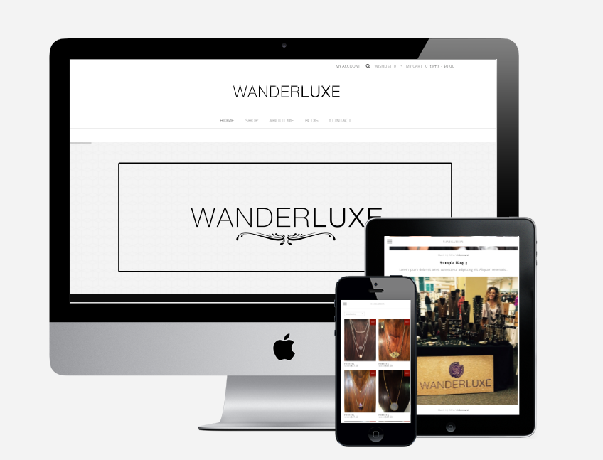 Wanderluxe Website