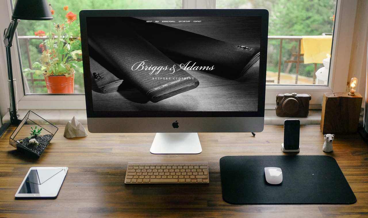 Briggs & Adams Website Home
